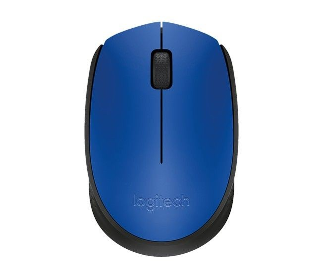Logitech Wireless Mouse M171, Niebieska
