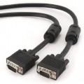 Gembird kabel monitorowy HQ SVGA D-sub 15m/15m 5m (ferryt, ekran, czarny)