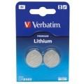 Verbatim Lithium Battery CR2450 3V 2 Pack