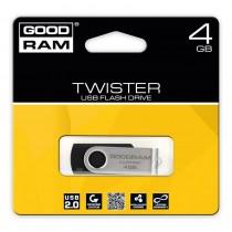GoodRam Pamięć USB UTS2 4GB USB 2.0 Czarna