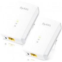 ZyXEL Zyxel PLA5206 v2 1000 Mbps Powerline Gigabit Ethernet Adapter Twin Pack