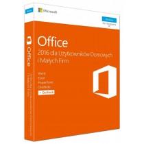 Microsoft Oprogramowanie Office Home and Business 2016 Win English EuroZone Medialess P2. Produkt posiada możliwość zmiany wersji językowej na polską