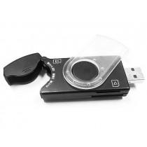 Gembird czytnik kart pamięci flash M2, Micro SD i kart SIM USB 2.0-PenDrive