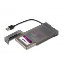 iTec i-tec MYSAFE Easy 2,5'' USB 3.0 Black Zewnętrzna obudowa na dysk 6.4cm SATA SSD