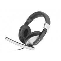 NATEC NSL-0780 Natec Słuchawki CRANE + mikrofon, 2x Mini Jack 3,5 mm