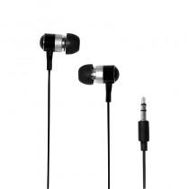 LogiLink - Douszne słuchawki stereo, do mp3/tel, kol. czarny