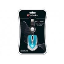Verbatim Mysz Travel niebieska USB