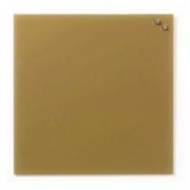 NAGA Szklana tablica magnetyczna kawowa 45x45
