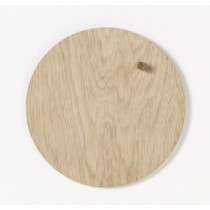 NAGA Tablica magnetyczna 25cm drewniana jasne drewno