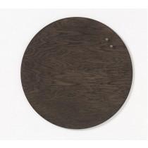 NAGA 70392 Tablica drewniana magnetyczna orzech 25 cm