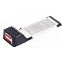 Gembird PCMCIAX-ESATA22 Kontroler ExpressCard do eSATA II x2 porty