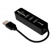 Tracer Czytnik kart CH4 All-In-One + HUB USB 2.0