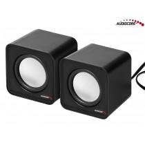 Audiocore Głośniki komputerowe 6W USB AC870B