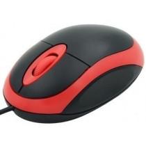 E5 Mysz przewodowa e5 MI02 optyczna USB czerwona