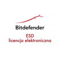 Bitdefender Antivirus Plus kontynuacja 2 lata 3 stanowiska ESD