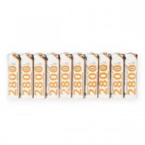 Whitenergy akumulatory - baterie AA/R6 2800mAh 10szt