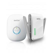 Netis PowerLine Transmisja Ethernet 300Mbps przez sieć elektryczną + Anteny
