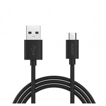 AUKEY CB-D9 Black szybki kabel Quick Charge micro USB-USB | 2m | 5A | 480 Mbps