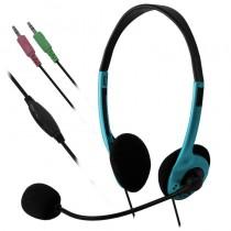 E5 Słuchawki z mikrofonem e5 Auro zielone