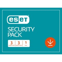 Eset Security Pack ESD Kon 3PC+3Sm 1Y ESP-K-1Y-6D