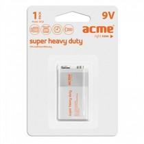 Acme Bateria Acme 6F22 Super Heavy Duty 9V 1pc