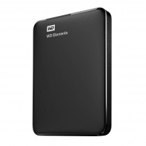 Western Digital Dysk zewnętrzny EXT Elements 500GB Black WorldWide