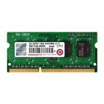 Transcend TS256MSK64V6N SODIMM 2GB 1600MHz DDR3 CL11