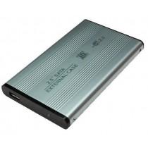 LogiLink Obudowa do dysków 2,5'' SATA HDD USB 2.0 aluminiowa srebrna