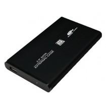 LogiLink UA0041B obudowa aluminiowa do HDD 2,5'' SATA (USB, czarna)