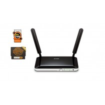D-Link 4G LTE Router, 4 X FastEthernet LAN, 2 X LTE antenna, SIM card slot