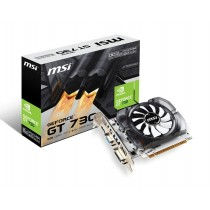 MSI GeForce GT 730, 2048MB DDR3, DVI-D, HDMI, D-Sub