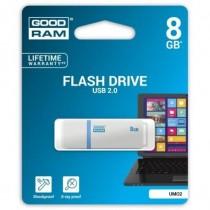 GoodRam Pamięć USB UMO2 8GB USB 2.0 Biała