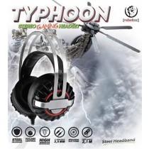 rebeltec Słuchawki z mikrofonem TYPHOON Gaming stereo