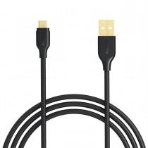 AUKEY CB-MD1 Black szybki kabel Quick Charge micro USB-USB | 1m | 5A | 480 Mbps
