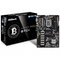 ASRock H110 PRO BTC+, Socket 1151, H110, DDR4 2400/2133