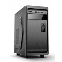 Gembird obudowa ATX, midi-tower FORNAX 100 (1x USB 3.0 + HD audio+czytnik) black