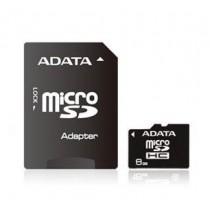 A-Data karta pamięci Micro SDHC 8 GB Class 4 + Adapter