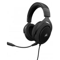 Corsair słuchawki gamingowe HS50 Stereo, Carbon (EU)