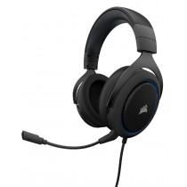 Corsair słuchawki gamingowe HS50 Stereo, Niebieskie (EU)