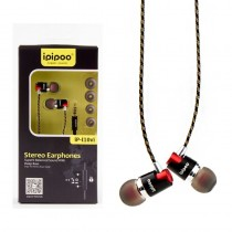 ipipoo iP-I10vi Czarne by AWEI douszne słuchawki przewodowe