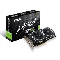MSI GTX 1070 TI ARMOR 8G GeForce GTX 1070 TI ARMOR 8G, 8GB GDDR5 (256 Bit), HDMI, DVI, 3xDP