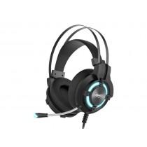 HAVIT GAMENOTE H2212d Słuchawki z mikrofonem gaming audio jack 3,5mm+USB, LED, 100Hz-20KHz