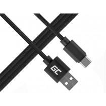 Green Cell Kabel USB-C Nylon 1m