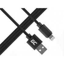 Green Cell Kabel Lightning-USB do Apple iPhone iPad Nylon 1m