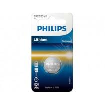 Philips Bateria PHILIPS Litowa CR2025 3V 1 Sztuka Blister
