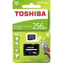 Toshiba Karta Pamięci Micro SDXC 256GB M203 Class 10 UHS-I + Adapter