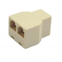 Gembird Adapter rozdzielacz telefoniczny TA-325 2/1 RJ-12 3xF