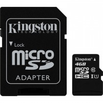 Kingston SDC10/4GB karta pamięci Micro SDHC 4GB Class 10