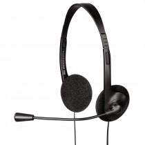 Hama Słuchawki z mikrofonem HS-101 czarne