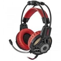 Redragon Słuchawki z mikrofonem Redragon LESTER Gaming czarno-czerwone
